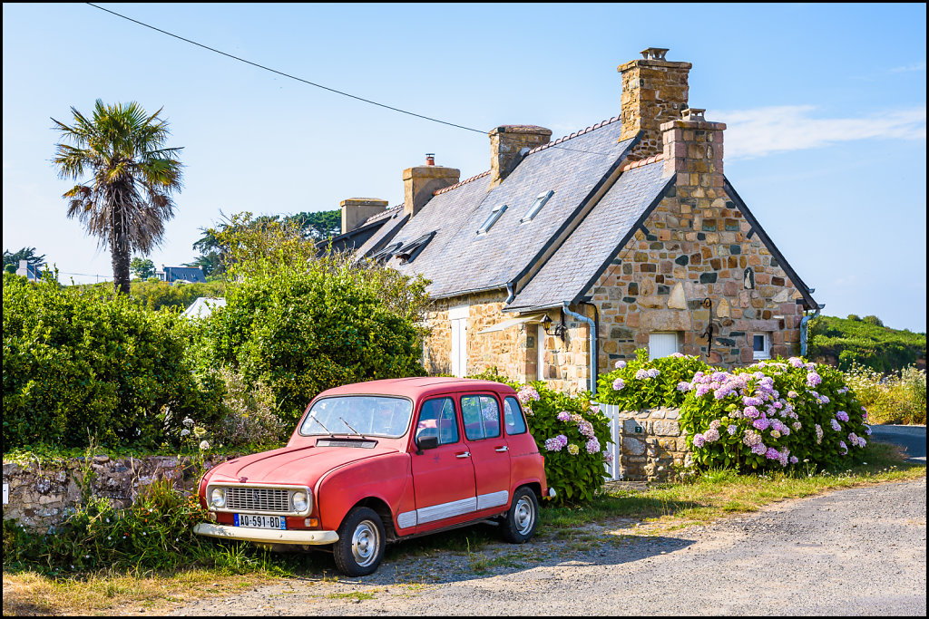 Plougrescant, Côtes d'Armor, France
